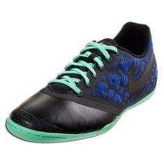 new product 7c6f4 9de74 Nike Elastico Pro II - Hyper Blue Black Indoor Soccer Shoes Futbol, Zapatos  De