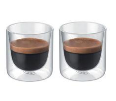 Alfi - szklanka z podwójnymi ściankami GlassMotion 80 ml, do espresso, szklanka, oryginalna szklanka, szkło stołowe, kawa, do kawy