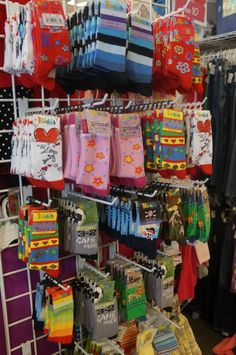 How cute are these children's socks? Shop @Once Upon A Child Reno for quality deals.