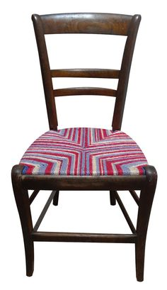 French antique chair with Mayhem design by Rustiquechairs