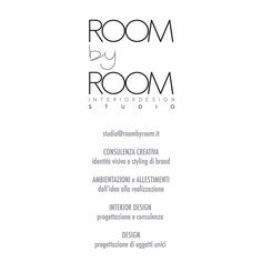 A quasi un anno dalla nascita del NOSTRO progetto Room by Room si fa in 2!  Vi presentiamo una nuova DIMENSIONE legata alla PROGETTAZIONE. studio@roombyroom.it scoprite la nuova sezione dedicata sul nostro sito •link in bio•