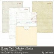 Library Card Collection: Basics