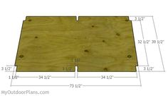 This step by step diy woodworking project is about double dog house plans. Building a large dog house for your pets is a complex project that requires a proper planning. Double Dog House, Large Dog House Plans, Build A Dog House, Woodworking Projects Diy, Woodworking Plans, Pallet Projects, Dog Houses, Play Houses, Floor Framing