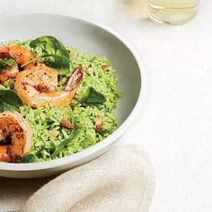 Shrimp and Pesto-Rice Salad - 21 Quick-Fix Salad Suppers Recipes - Southern Living
