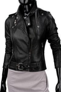 Ramoneska skórzana damska DORJAN CM JUD450 Ramones, Motorcycle Jacket, Leather Jacket, Jackets, Fashion, Studded Leather Jacket, Down Jackets, Moda, Leather Jackets