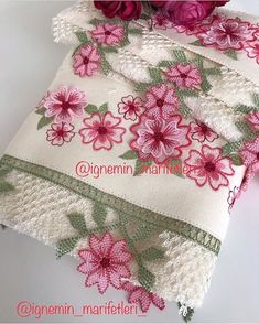 # # # Creative embroidery needle iğneoya the # # # tigoya to eliminate the # # göznur the bride groom # # # Duke Cey … - Tatting Ideen 2019 Embroidery Needles, Beaded Embroidery, Hand Embroidery, Machine Embroidery, Knitted Poncho, Knitted Shawls, Hairstyle Trends, Knit Shoes, Creative Embroidery