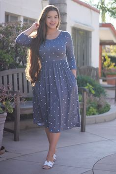 New collection Modest Dresses Modest Dresses, Modest Outfits, Skirt Outfits, Modest Fashion, Cute Dresses, Casual Dresses, Fashion Dresses, Apostolic Fashion, Stylish Dresses