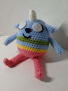 Amigurumi Adventure Time inspired Jake and Lady Rainicorns puppy TV Adventure Time Crochet, Adventure Time Crafts, Adventure Time Characters, Knit Crochet, Crochet Hats, Diy Toys, Crochet Patterns, Crochet Ideas, Art Projects