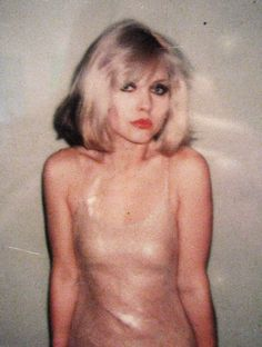 Debbie Harry from Blondie photographed by the amazing Andy Warhol