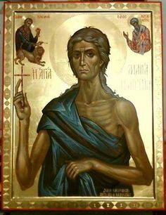 Спаси нас молитвами твоими, преподобная мати Мария