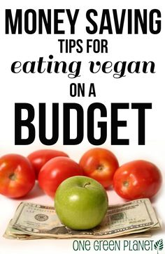 Money Saving Tips for Vegans on Budget http://onegr.pl/1qNZ1yP #imagreenmonster