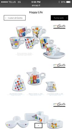 GIOTTO White -available at Rocchitelli Importing ...
