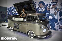 VW DJ van