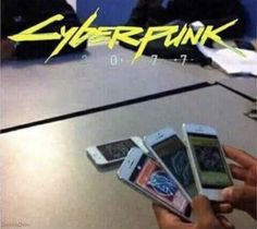 29 Cyberpunk 2077 Memes That Show People Using Technology in the Cringiest Ways - Funny Gallery Cyberpunk 2077, Best Memes, Dankest Memes, Funny Images, Funny Pictures, Darkside, Stupid Funny Memes, Funny Comics, Really Funny