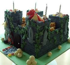 knight cake - Google Search Dragon Birthday Cakes, Castle Birthday Cakes, Novelty Birthday Cakes, Lego Birthday, Birthday Cake Girls, Castle Cakes, Knight Cake, Knight Party, Lightning Mcqueen Birthday Cake