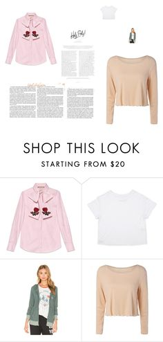 """""""pink beauties"""" by donna-wang1 ❤ liked on Polyvore featuring Gucci and Spiritual Gangster"""