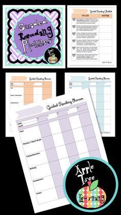 Guided Reading Planner and Organizer #guided&reading #reading&strategies #reading #literacy #literacy #organizing #organization #planner #planning