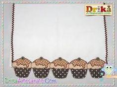Resultado de imagem para panos de cozinha com motivos cupcakes