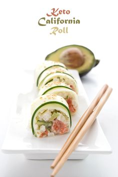 Keto Sushi Recipe | All Day I Dream About Food