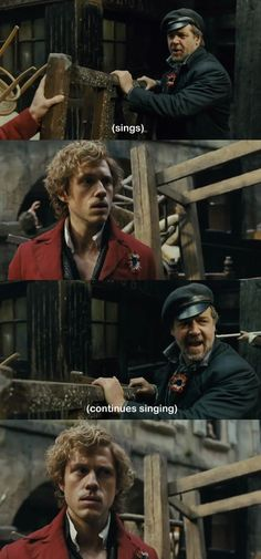 Sums up Les Mis. I liked the movie but Russell Crowe was a bit too much.