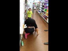 """The two videos embedded in this post are called """"Beech Grove Walmart fight part 1"""" and """"Beech Grove Walmart fight part 2."""" Each video carries the same YouTube description: """"2 women and a kid fight at Walmart."""" I just want everyone to be clear on what you're getting into here."""