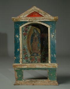 19th cent Mexican retablo