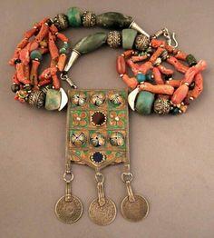 Moroccan berber jewelry