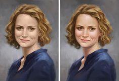 Kelley McMorris illustration: How to Paint Lifelike Skin Tones
