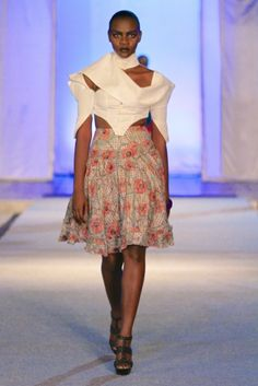 Sakia Lek @ Kinshasa Fashion Week 2013 | FashionGHANA.com (100% African Fashion)FashionGHANA.com (100% African Fashion)