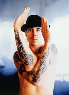 Anthony Kiedis, frontman of the Red Hot Chili Peppers ~ famous INFJ