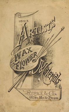 Catalogue of Ripka & Co. : importers and manufacturers of artists' materials. 1893. Metropolitan Museum of Art (New York, N.Y.). Thomas J. Watson Library. Trade Catalogs. #artistlife   #inspiration. |Art is your creativity.