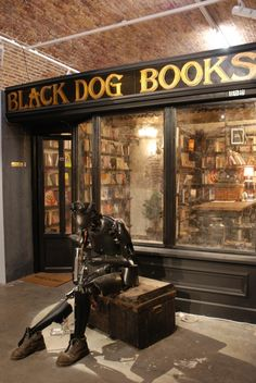 Black Dog Books in BlackRat Gallery     83 Rivington Street,  London