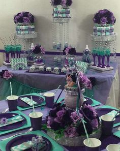 Little Mermaid Baby Shower Baby Shower Party Ideas | Photo 1 of 7