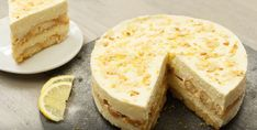Hemels: deze no bake limoncello-tiramisutaart is fantastisch lekker!