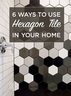 6-Ways-To-Use-Hexagon-Tile 6 Ways To Use Hexagon Tile In Your Home All Kitchens Residential Restaurants Retail/Commercial Tile Inspiration