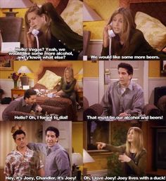 When Rachel Green ( Jennifer Aniston ) and Ross Geller ( David Scrwimmer ) got drunk in Vegas on the tv show Friends #thatsbeauty