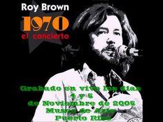 "Roy Brown 1970 ""El concierto"" Disco completo - YouTube Puerto Rico, Videos, Youtube, Concert, Musica, Youtubers, Youtube Movies"