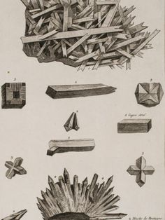Diderot Crystals 8 1751 Encyclopedie Ou Dictionnaire Engraving | eBay