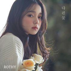 Rothy - 'Blossom Flower' Album Cover Girl Artist, Art Girl, Art Photography Portrait, Flower Artists, Meteor Garden, Blossom Flower, Kpop Girls, Ulzzang, Photoshoot