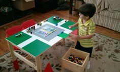 Lego Table from Ikea Sansad