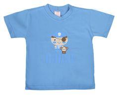 Camiseta masculina infantil confeccionada em 100% algodão. Estampa em Silk Screen sem toque e extremamente resistente a lavagens.