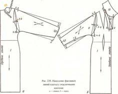 Сшить платье цельнокройный рукав выкройка