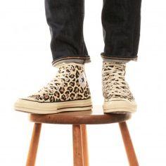 Converse, Cheetah print