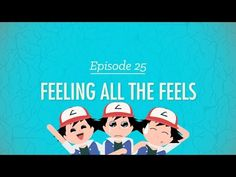 ▶ Feeling All the Feels: Crash Course Psychology #25 - YouTube [A great reference for pegging a character's emotions!]