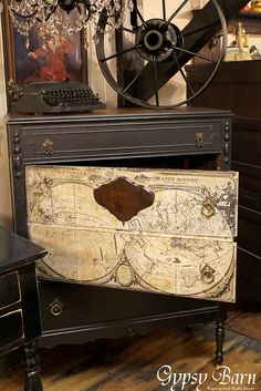 Hometalk :: Repurposed Dresser Inspiration :: Crystal @ Urban Patina's clipboard on Hometalk