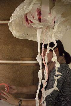 Kunst aus Klebeband - Tape Art Workshop hKDM beim illu² Festival Freiburg 2015 Tape Art, Workshop, Ceiling Lights, Home Decor, Duct Tape, Freiburg, Art, Homemade Home Decor, Atelier