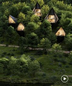 peter pichler architecture designs sustainable tree houses for west virginia