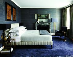 Mens bedroom interior design awesome ideas for masculine bedroom design masculine bedroom ideas living room decoration Blue Carpet Bedroom, Blue Bedroom, Master Bedroom, Men Bedroom, Peacock Bedroom, Black Bedrooms, Neutral Bedrooms, Single Bedroom, Bedroom Colors