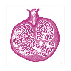 One of your five a day - Pomegranate - Chelsea School of Art x Pedlars