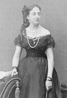 Princess Marie Isabelle of Orléans, Countess of Paris c. 1870